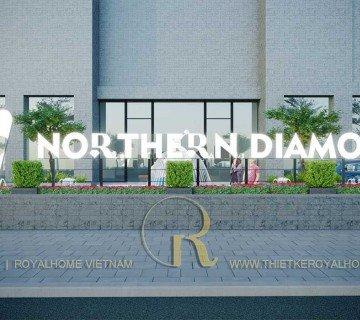 THIẾT KẾ NỘI THẤT KHU PHỨC HỢP NORTHERN DIAMOND