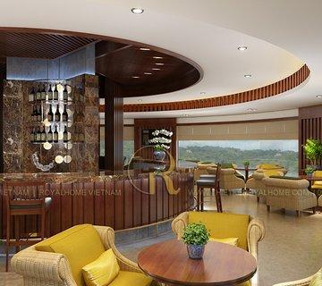 Thiết kế nội thất Cafe An Hưng